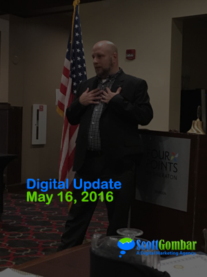 Digital Update May 16 2016 Facebook Live & Twitter Characters